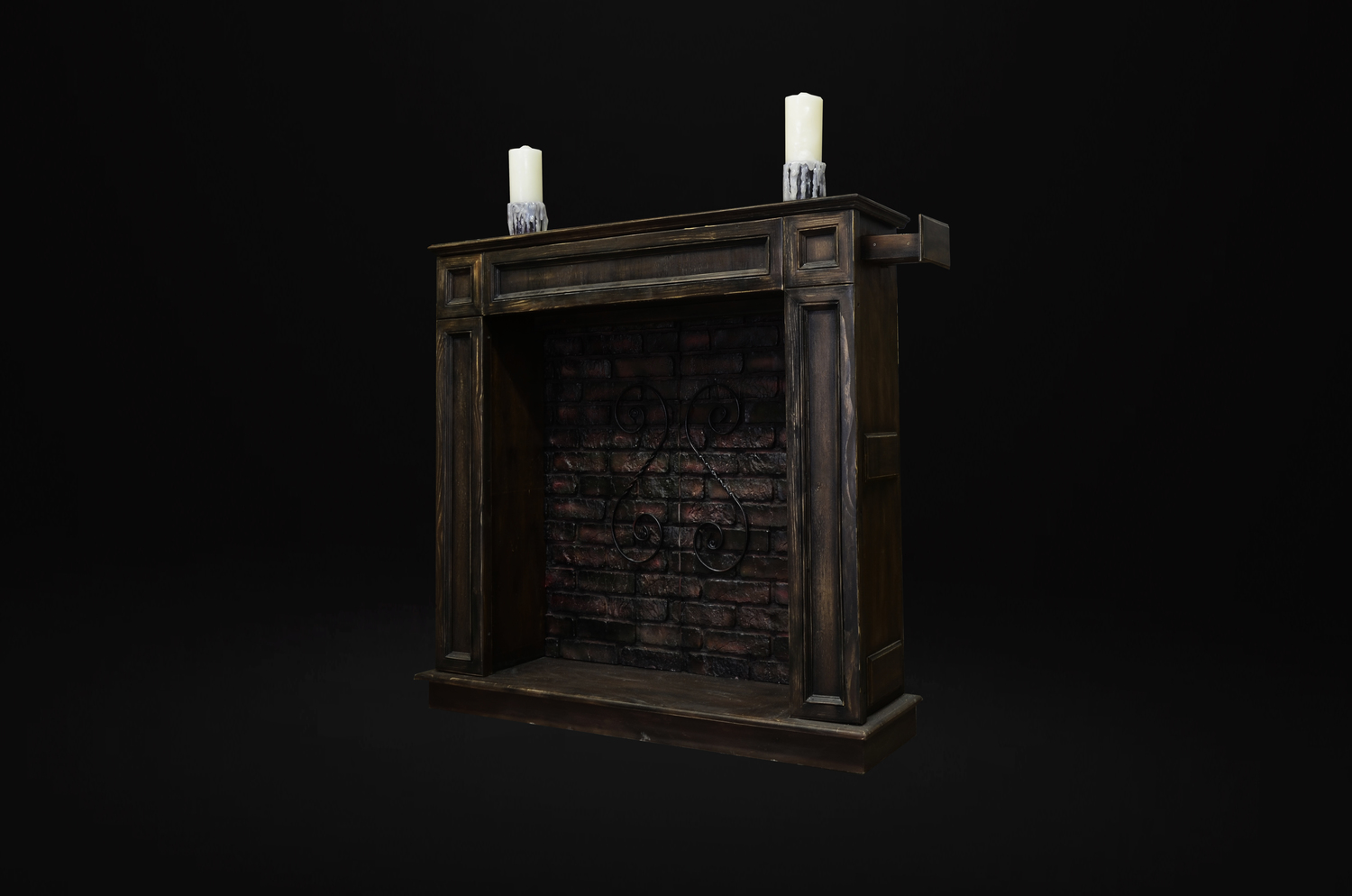 "<p><span style=""font-weight: bold;"">Secret passage for quest room fireplace</span><br></p>"